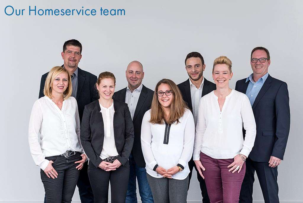 Our Homeservice team