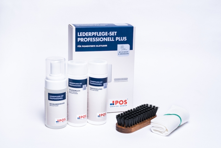 Lederpflege-Set Professionell Plus mit UV-Schutz